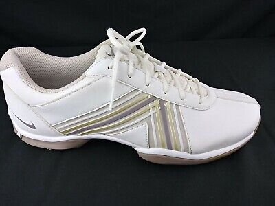 Nike Delight Womens Size 9.5 White Golf Cleats Shoes Soft Spikes 549583-100 UK 7 Womens Delight Golf Shoes