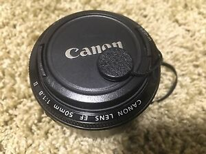 Canon EF 50 mm. 1.8