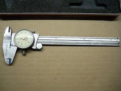 Starrett No. 120 6 6 Inch Dial Caliper Hard Case Made In The Usa