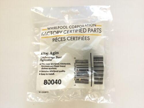 80040 Genuine OEM Original Whirlpool Washer Agitators Dog Ears 285770 Newest!