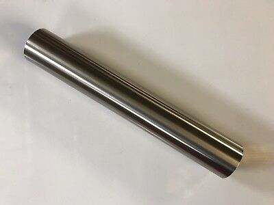 """1.75"""" OD 12"""" Long 304 Stainless Steel 16 Gauge Straight Pipe tubing exhaust pipe"""
