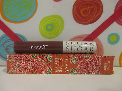 FRESH ~ SUGAR LIP GLOSS ~ SUGAR DESIRE ~ 0.3 OZ BOXED - Fresh Sugar Lip Gloss