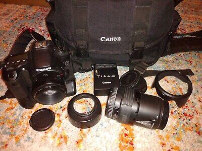 Canon EOS 60D 18.0MP Digital SLR Camera - Black (Kit w/ EF 50mm Lens and 70-210)