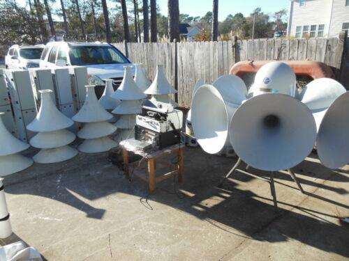 Outdoor Warning Siren System, Emergency Alert System, Mass Notification 5 units