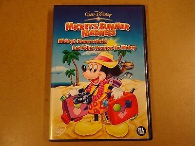 DVD / MICKEY'S SUMMER MADNESS / MICKEY'S ZOMERZOTHEID / LES FOLLES VACANCES DE