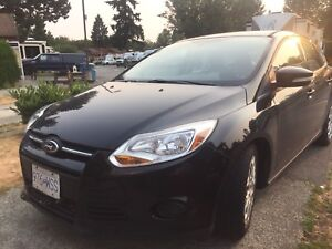 2013 Ford Focus SE with Motorhome Tow Bars