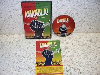 Amandla - A Revolution in Four-Part Harmony DVD Out of