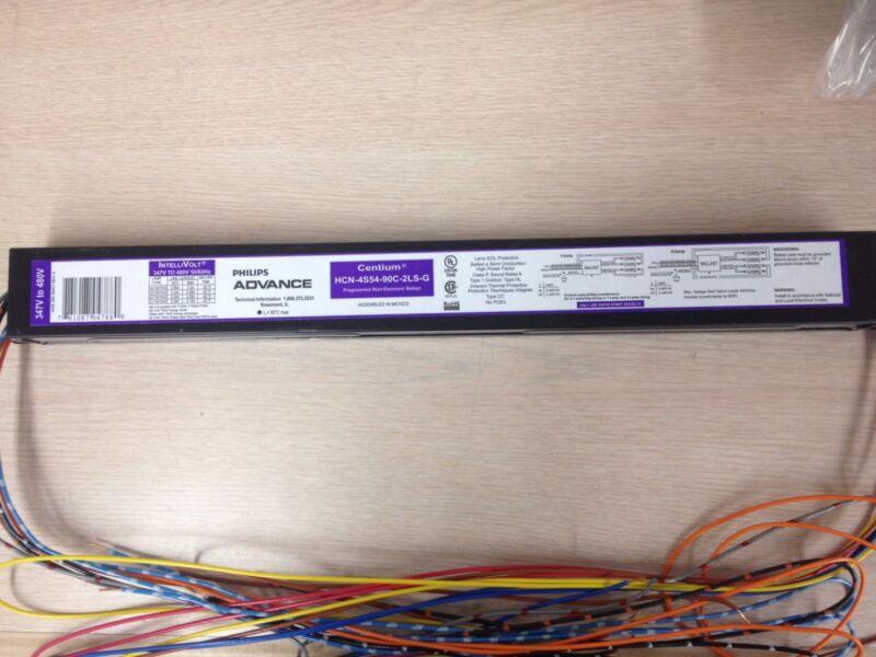 6 ADVANCE 04787 HCN4S5490C2LSG  347-480V ELECTRONIC BALLAST FOR (1-4) F54T5HO