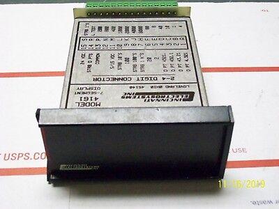 Cincinnati 7-segment Display 2-4 Digit Connector W 788-cei Terminal Board 4161