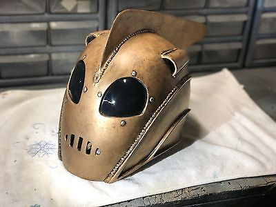 Rocketeer Helmet w/ Liner & Custom Stand - Full Scale