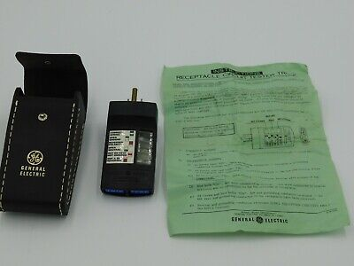 General Electric Receptacle Circuit Tester Case