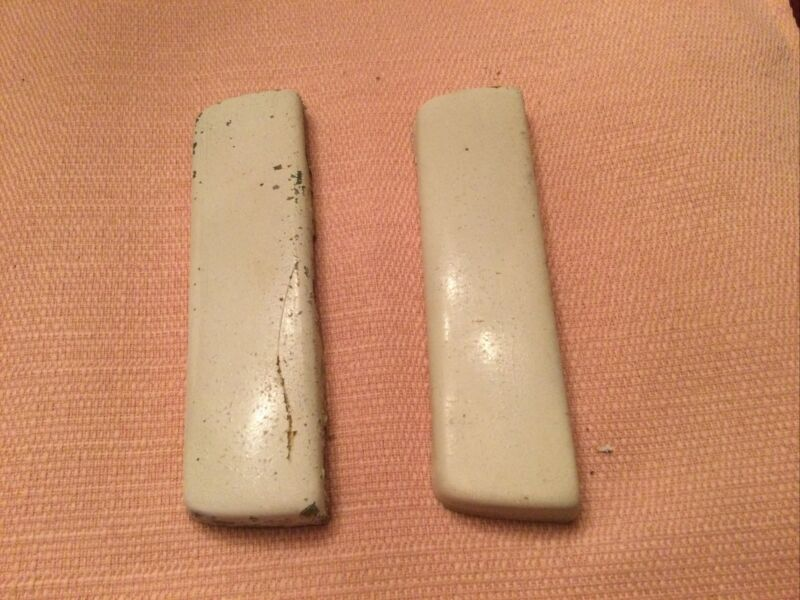 Vintage Philco Refrigerator Hinge Covers for 1950