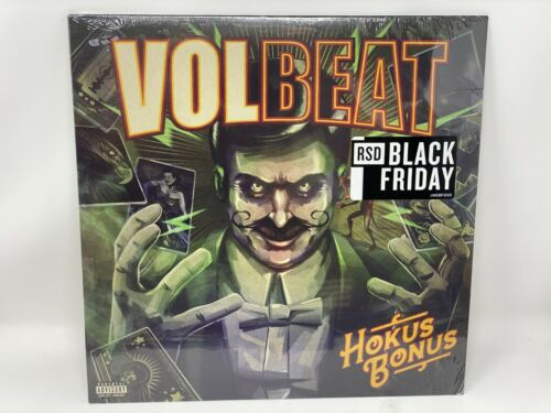 *CREASED* VOLBEAT HOKUS BONUS LP VINYL RECORD STORE DAY 2020 RSD 204/3000