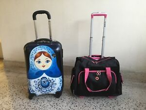 "carry on, CABIN luggage:22"" high,-$9/each"
