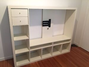 IKEA TV STORAGE UNIT WITH TV WALL MOUNT Rosanna Banyule Area Preview
