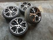 17s 4 Studs Rims and Tyres Woodridge Logan Area Preview