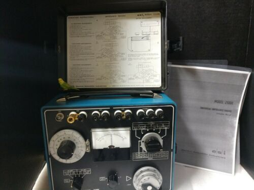 esi 250DE Universal Impedance Bridge, w/Manual and TESTED