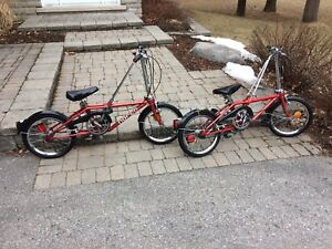 2 Vintage Dahon Classic III Bikes - Campbellford