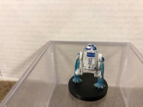 Star Wars Miniatures Collectible 17/60 R2-D2 Figure NO Card