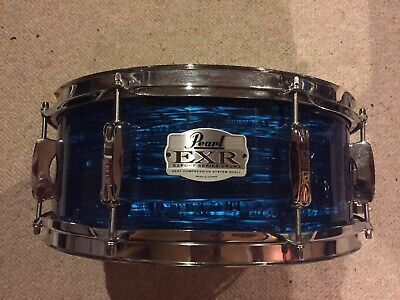 Pearl Export EXP 14 Inch Blue Strata Snare