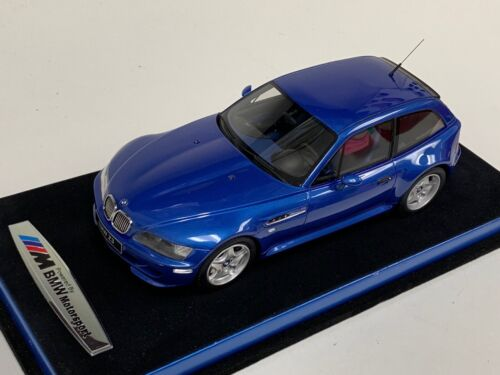 1/18 GT Spirit Ottomobile BMW Z3 M COUPE 3.2 from 1999 in Blue  OT318 Suede