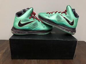 """outlet store 89fe8 fab1b Nike Lebron X basketball shoes """"China Jade"""" US 10 BRAND NEW"""
