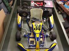 Kart Monaco GP leopard 125cc plus many Extras Gosnells Gosnells Area Preview