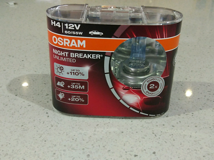 Osram Nightbreaker Unlimited H4 Twin Pack