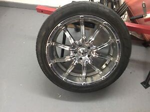 4 20 inch rims and pirellie tires