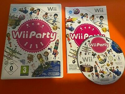 WII PARTY RARE - Nintendo Wii / Wii U - COMPLETE MINT - Free P+P