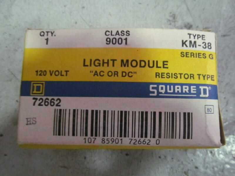 Square D 9001 Type KM-38 Series G Light Module Resistor Type