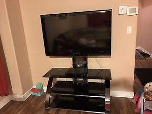 samsung 48 inch tv and entertainment unit stand