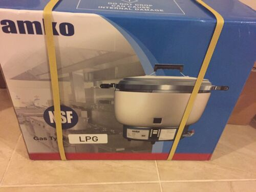 Amko Ak-55rc 55 Cups LP Gas Rice Cooker