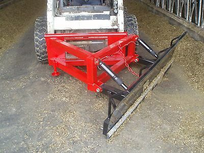 Feed Plow Skid Steer Attachment