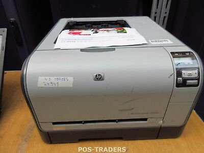 HP CP1515n CC377A A4 Color Laser Printer Drucker USB LAN 12ppm - 24941 PRINTS