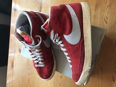 Nike Blazer Hi Uk9 Red