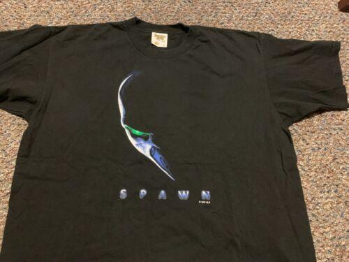 SPAWN 1997 movie rare vintage promotional t-shirt Adult X-Large Todd McFarlane