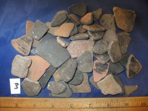 Authentic Prehistoric Pottery Shards, Galveston Texas Indian Artifacts, #3