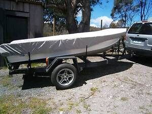 12ft Aluminium Boat with 18 hp outboard Rossarden Northern Midlands Preview