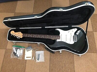 Fender American Standard Stratocaster with Hard Case, Extra Bridge,Tremolos,etc.
