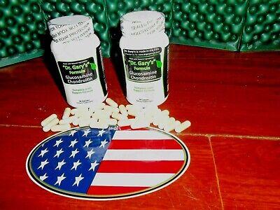 Dr Garys Best Breed Dog Glucosamine Chondroitin Arthritis Capsules 3MoSupply USA