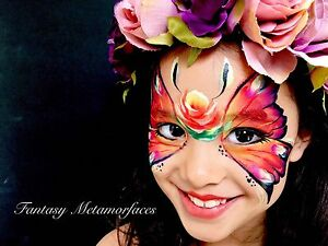 Professional Face Painter - Fantasy Metamorfaces Thorneside Redland Area Preview