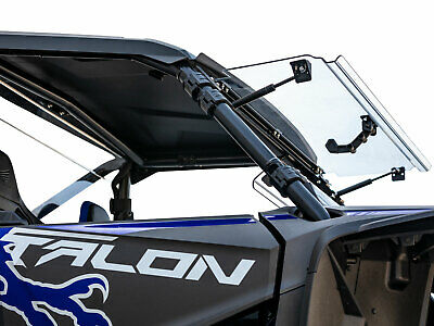SuperATV Scratch Resistant 3-IN-1 Flip Windshield for Honda Talon 1000 (2019+)
