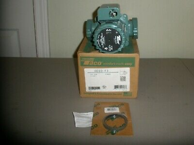Taco 0010-f3 Flanged Circulator Pump 18hp 115v