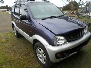 1999 Daihatsu Terios Triabunna Glamorgan Area Preview