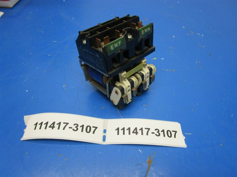 Struthers Dunn MSD A275KXX91 Reversing Contactor Good Used Condition