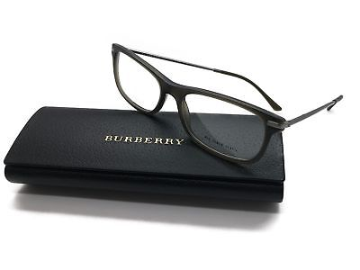 33bcee913b14 NEW Authentic BURBERRY B 2195 3535 Matte Olive 55mm RX Eyeglasses