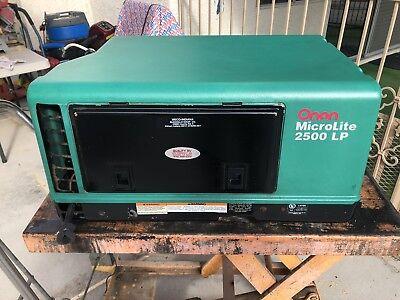 Onan Lp Microlite Generator 2800 Propane Watt Rv Motorhome Generator