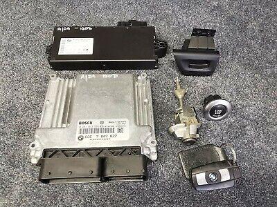E81 E82 E87 E88 BMW 1 SERIES 120d ENGINE ECU DDE CAS3 IGNITION & LOCK SET N47