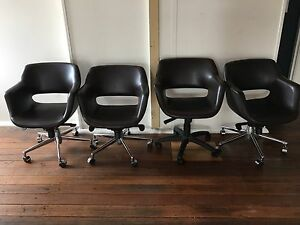 Leather chairs Woolloomooloo Inner Sydney Preview